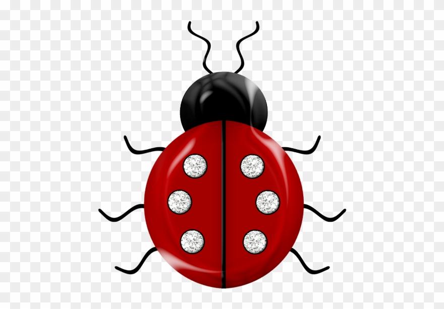 Clipart bee ladybug.  picnic silk painting