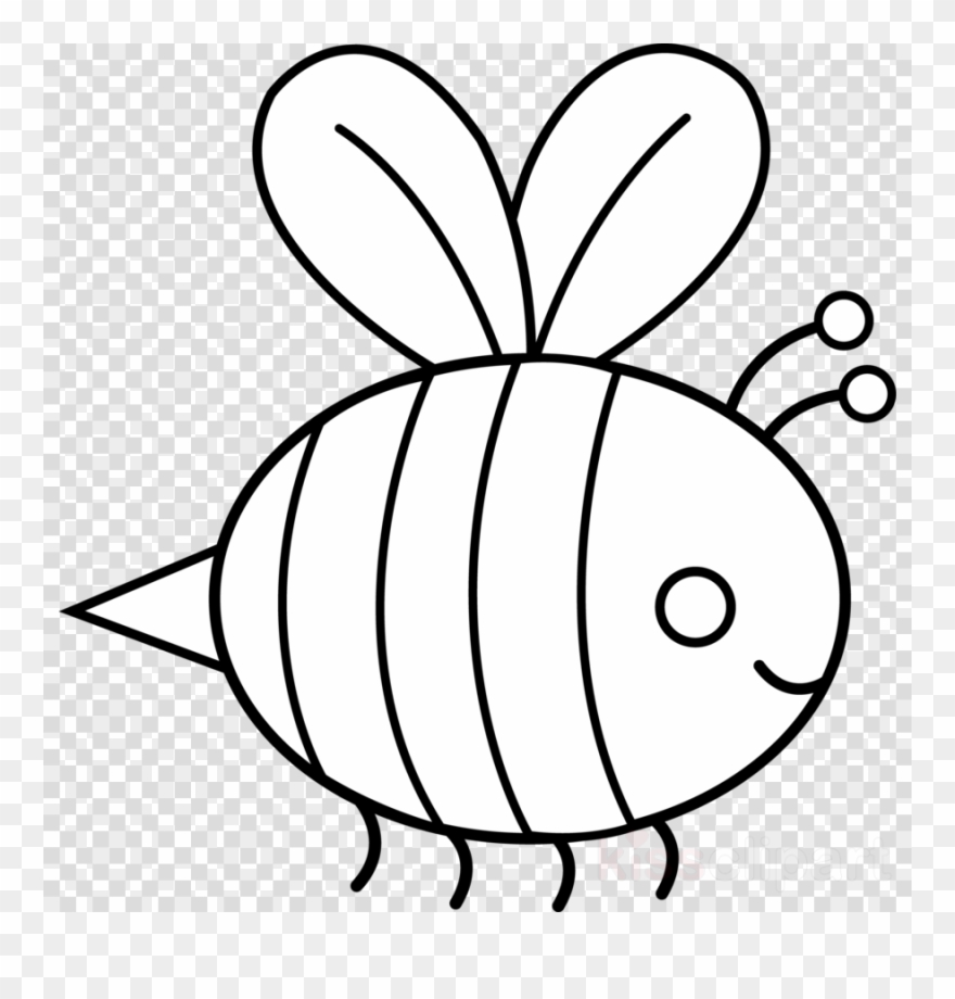 Bumble drawing clip art. Bee clipart outline