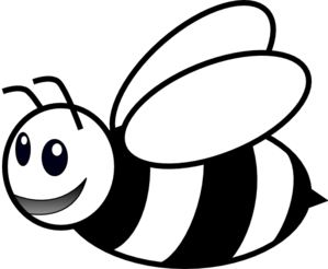 collection of bee. Bees clipart printable