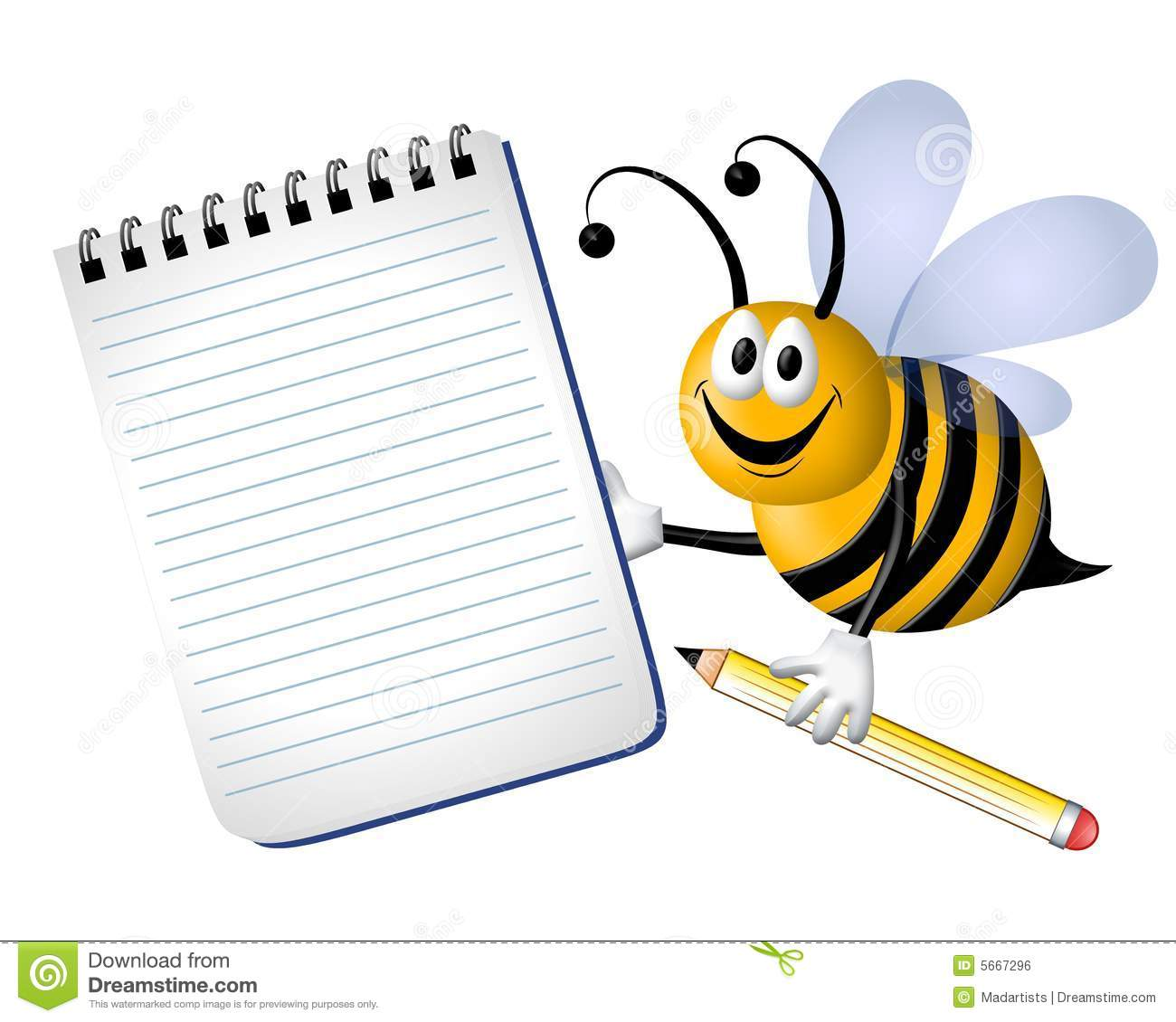 Bee clipart pencil.  collection of busy