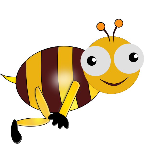 Tuna clipart animated. Bee pencil and in