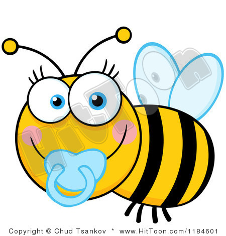 Bees cute baby and. Bee clipart pencil