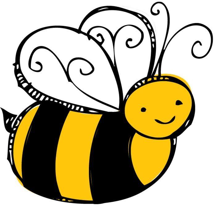 Cute spelling panda free. Bee clipart pollinator