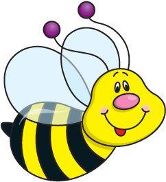 Free clip art drawings. Bee clipart preschool