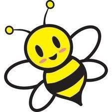Bee clipart printable.  best bijen images