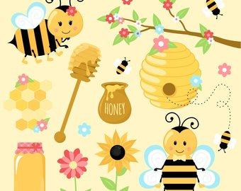 Honey bee etsy bumble. Beehive clipart clip art