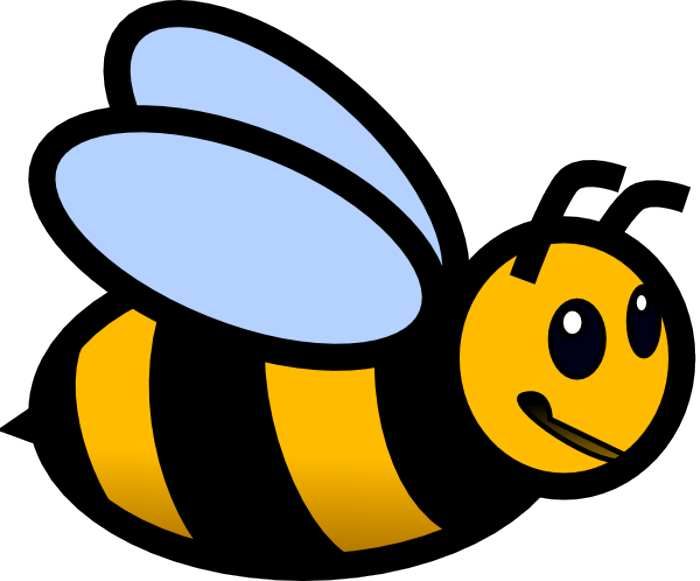 Clipart bee printable. Free download clip art