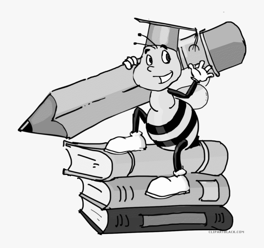 Bee png . Spelling clipart reading
