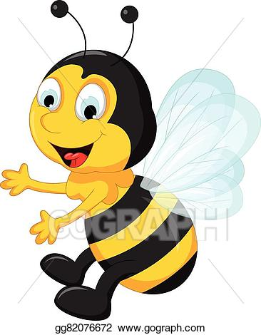 Working clip art royalty. Bee clipart signboard