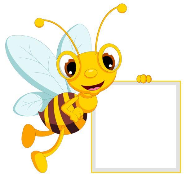 bee clipart signboard #30397697