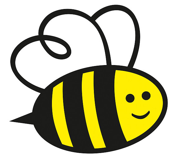 collection of high. Bee clipart simple
