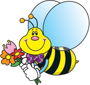 bee clipart summer #30389965