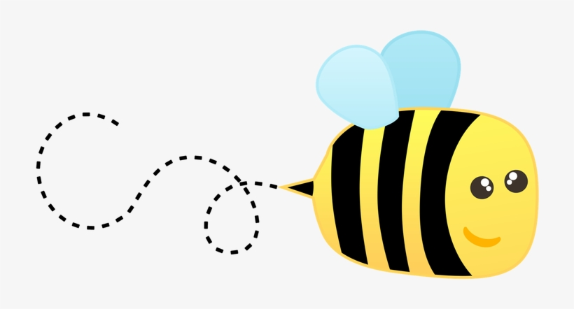 Buzzing bee clip art. Bees clipart summer