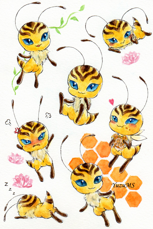 New bee kwami by. Bees clipart superhero