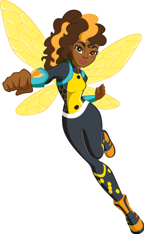 Bumblebee dc super hero. Bees clipart superhero