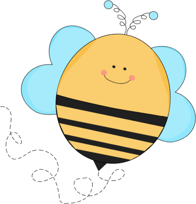 Clip art images blue. Bee clipart teacher