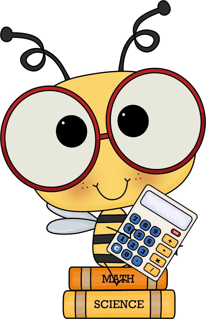 Who is in school. Bees clipart teacher