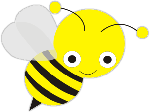 collection of high. Bee clipart transparent background