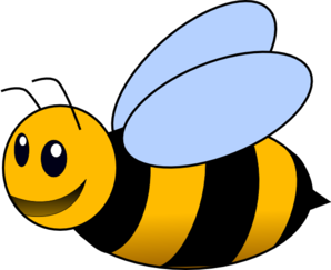 Bee clipart transparent background.  collection of high