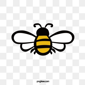 Download free png format. Bee clipart transparent background