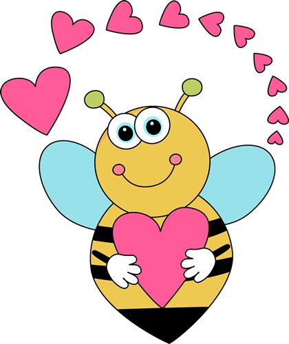 Bee clipart valentines day.  best cute s