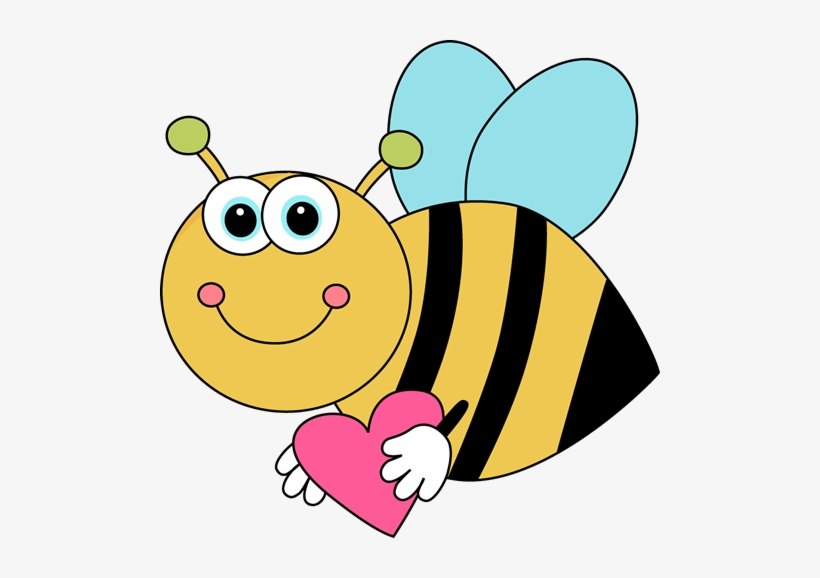 Bees clipart valentines day. Flying bee transparent