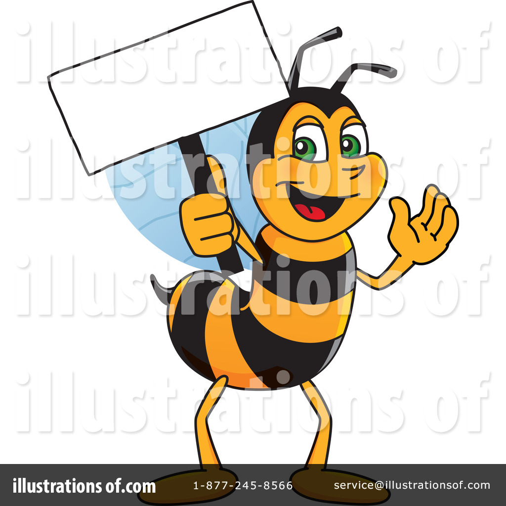 Bee clipart worker bee. Character illustration by toons