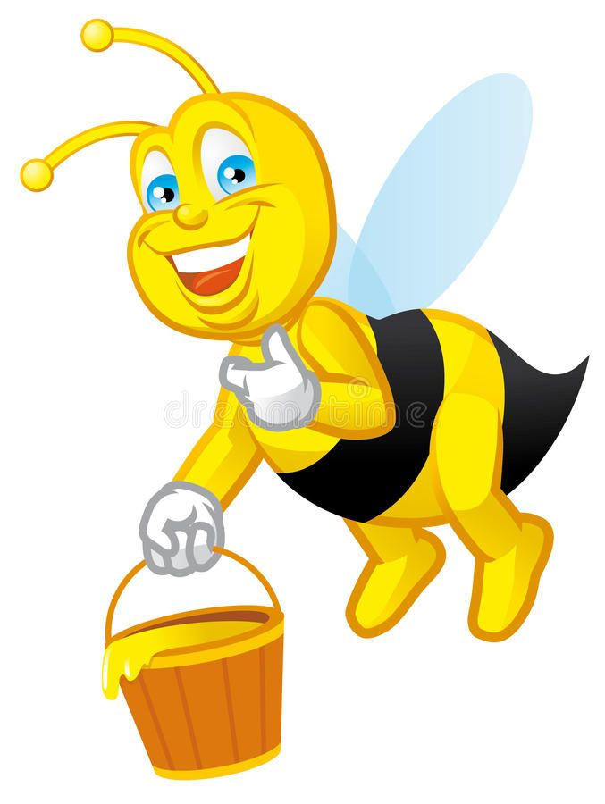 Image result for pinterest. Bee clipart worker bee