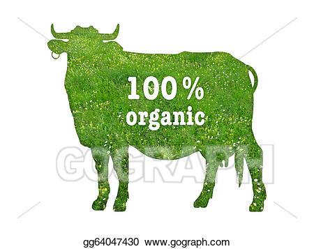 Beef clipart 100 percent. Stock illustration symbol of