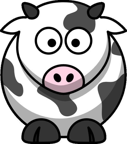 Cartoon cow clip art. Clipart hippo moving