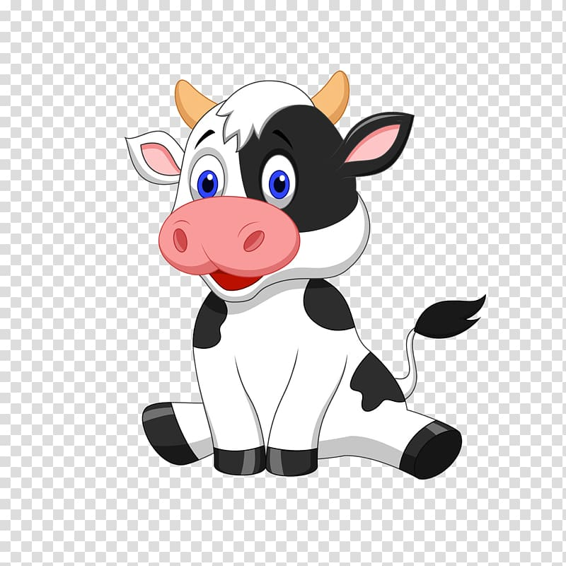 Beef clipart animated. Dairy cow illustration cattle
