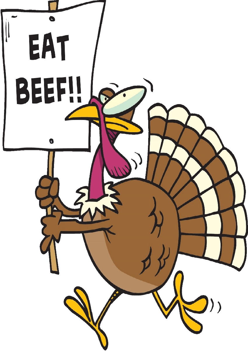 Free funny turkey cliparts. Beef clipart animated