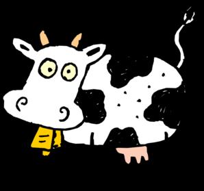 Cartoon cow clip art. Beef clipart animated