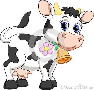 best cartoon cows. Cattle clipart male cow