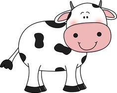 Clip art free cartoon. Clipart cow