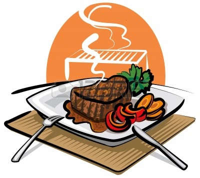 Steak free images wikiclipart. Feast clipart cooked meat