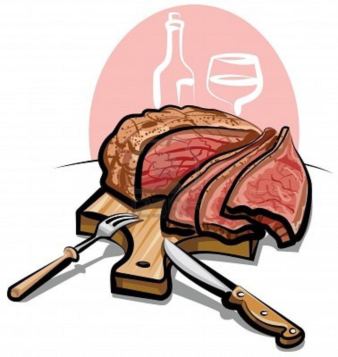 Meat clipart steak. Cooked image download snowjet