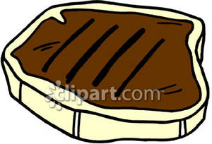 Cooked Steak Clipart