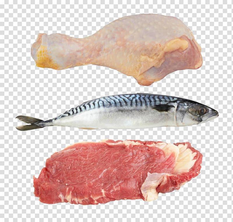Sashimi chicken red transparent. Ham clipart fish meat