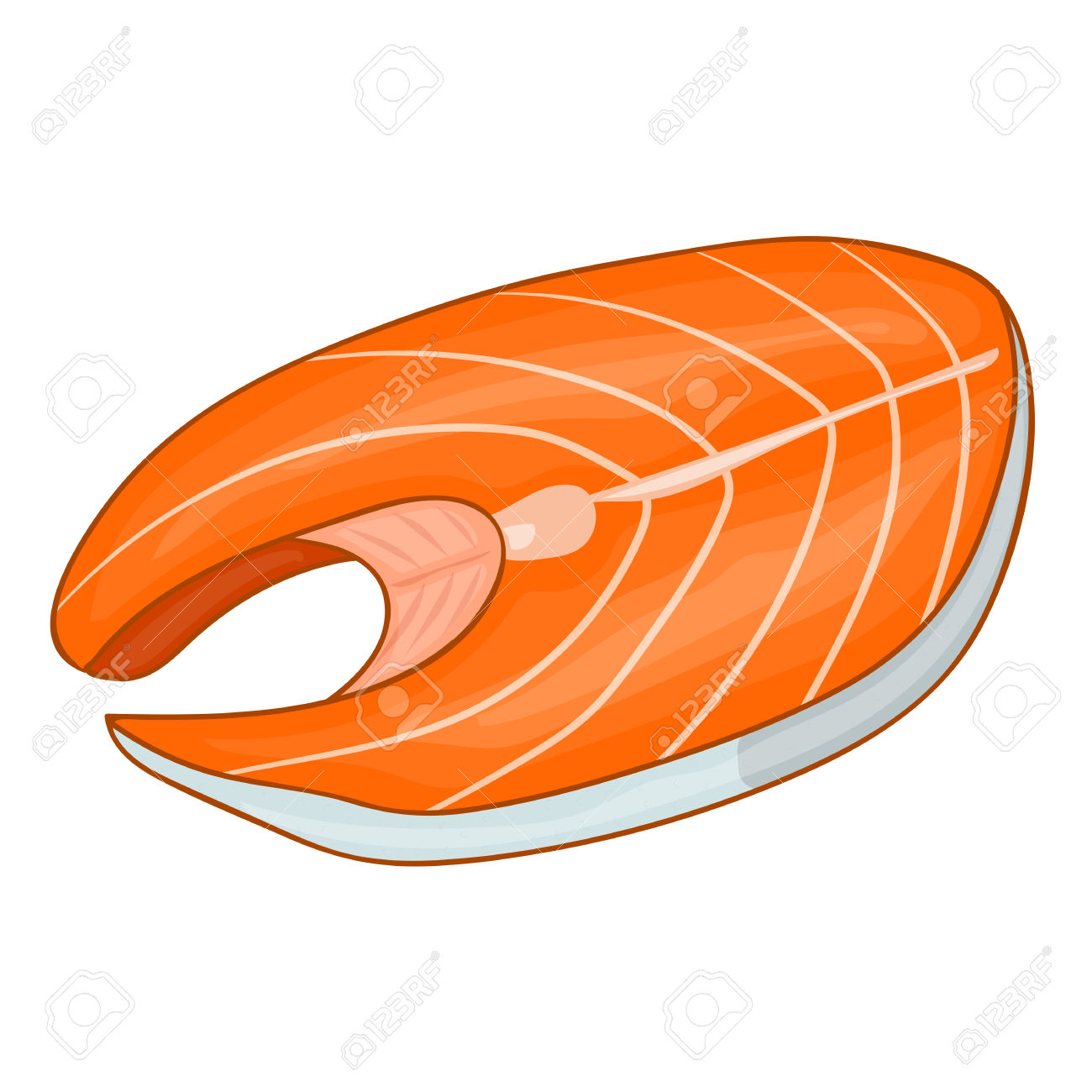 beef clipart fish meat #30443883
