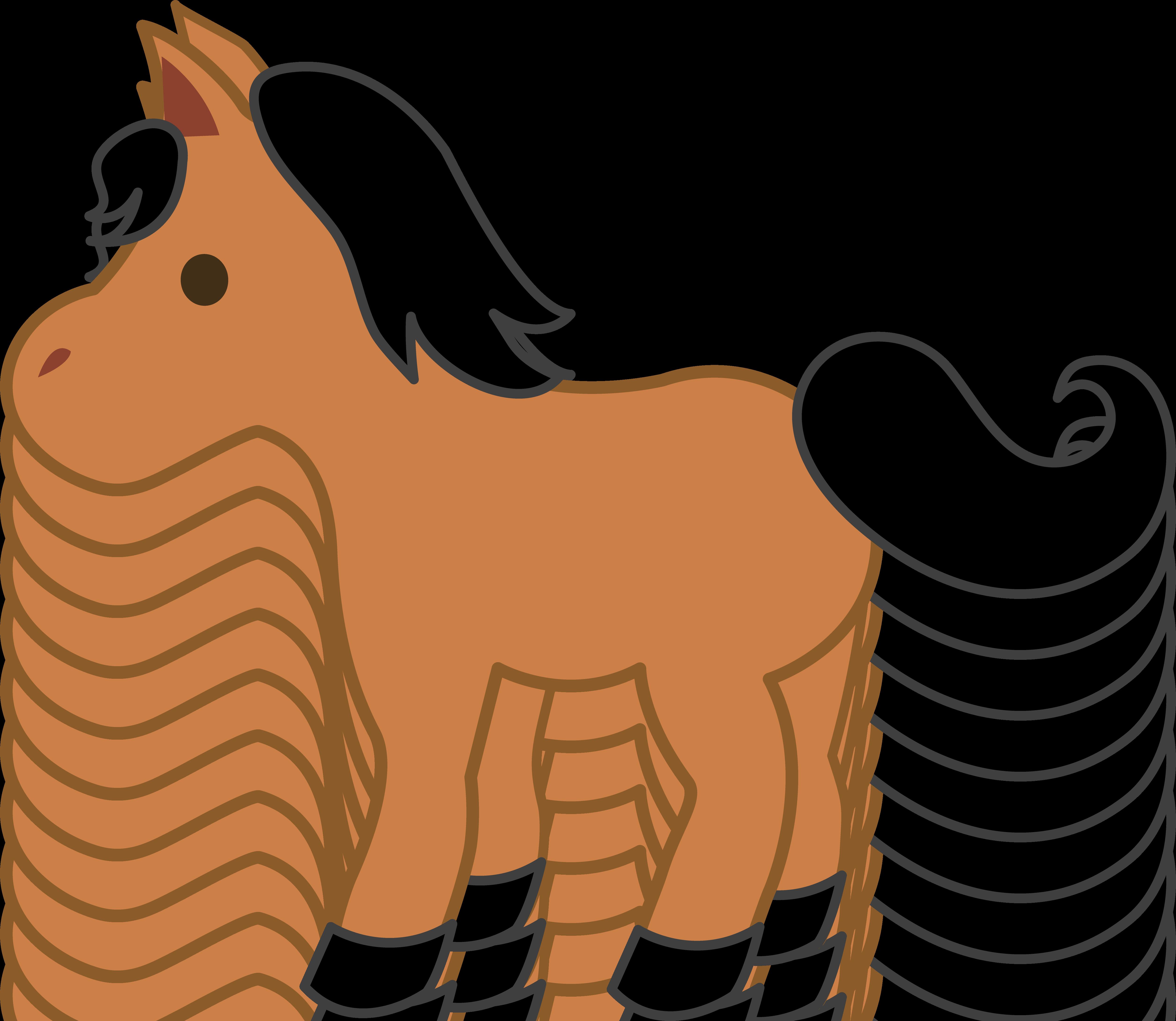 Baby kid clip art. Clipart horse cute