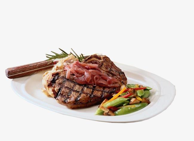 Roast salad png image. Beef clipart ribeye steak