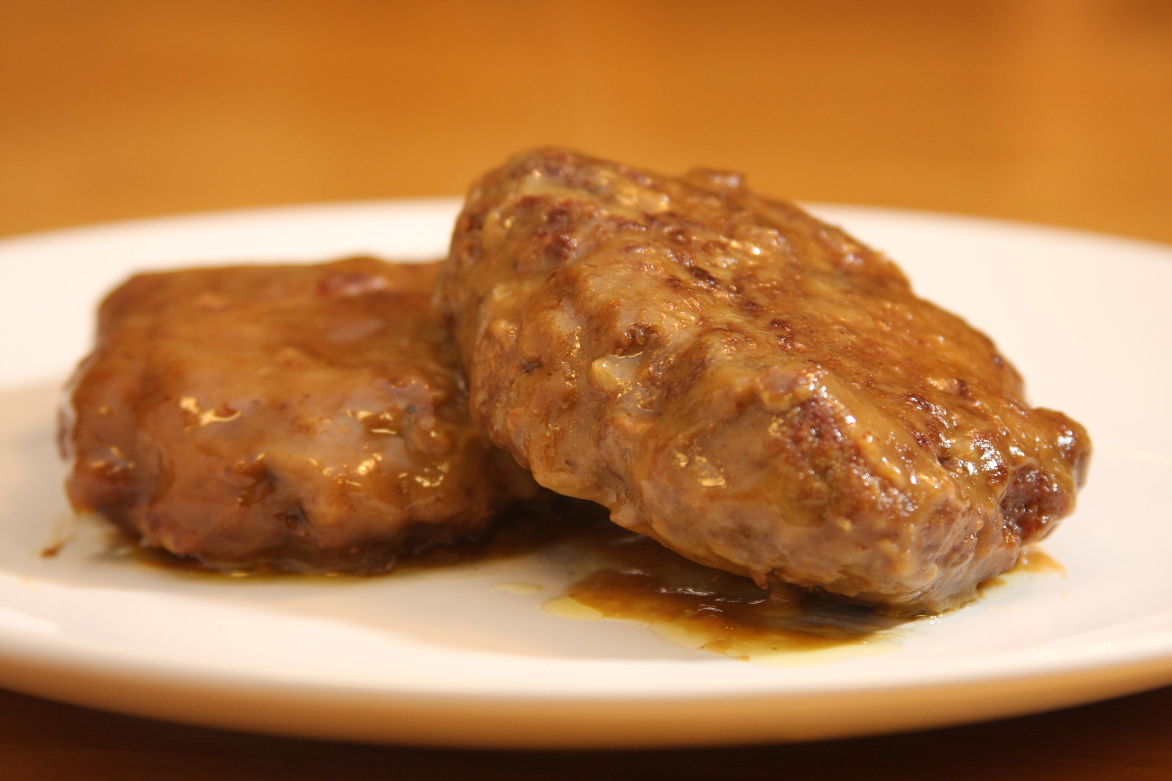Slow cooker it is. Beef clipart salisbury steak