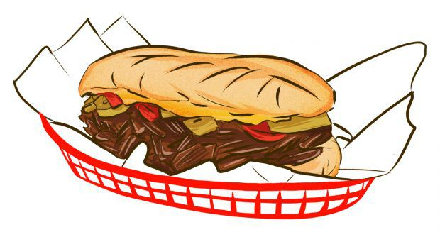 Meat and potatoes dishes. Beef clipart steak sandwich