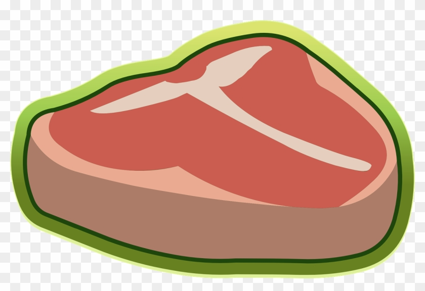 Meat steak raw sirloin. Beef clipart transparent background
