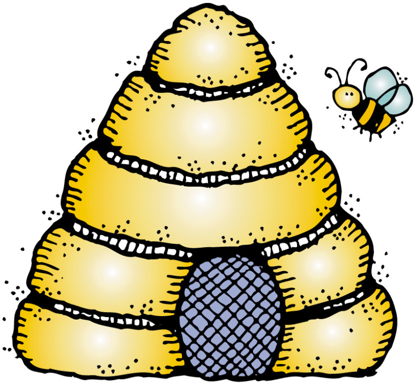 Beehive clipart. Clipartix