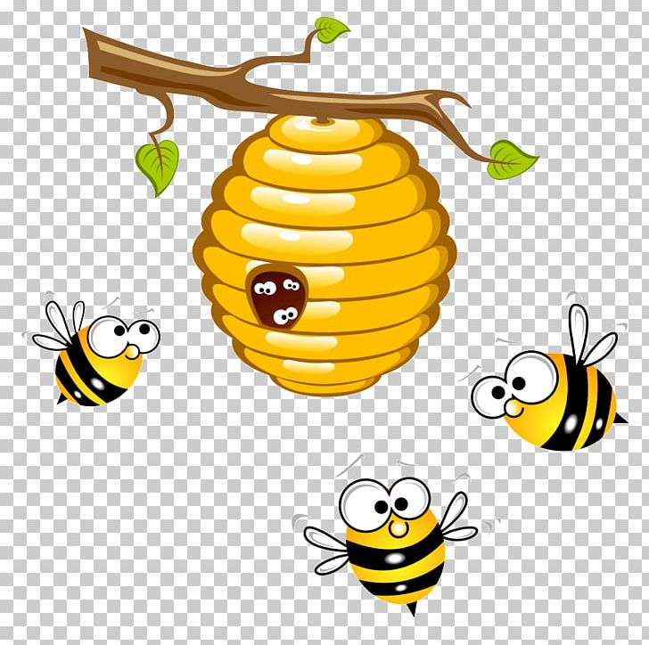 Honey beehive bumblebee png. Honeycomb clipart bee pollination