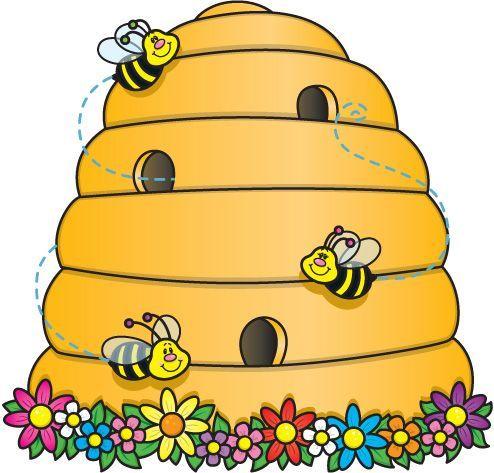 Bing clipart beehive. Bee hive clip art