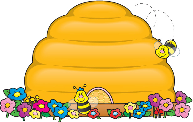 Bee clipart beehive. Be a cute