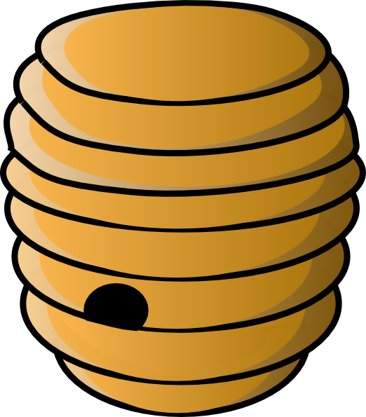honeycomb clipart bee home